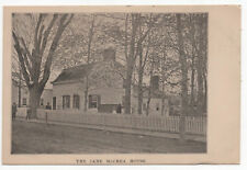 RARE Jane McCrea House Sarah McNeil Fort Edward NY New York Massacre Unposted