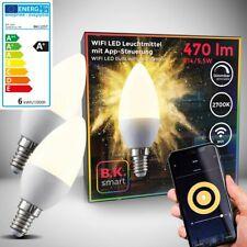 LED Smart Leuchtmittel WiFi Lampe dimmbar Birne E14 Alexa Google 5,5W Smart Home