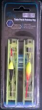 Twin Pack fishing Rig 4m  7lbs  Lines Ready to Fish Ideal for Holiday