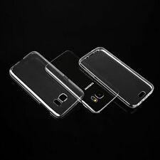 ^ Fitty Double Ultra Slim Case Hülle Tasche Vorne + Hinter Samsung Galaxy S7