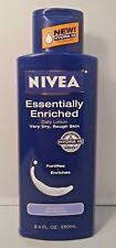 Nivea Body Daily Lotion, Essentially Enriched for Very Dry, Rough Skin, 8.4 oz