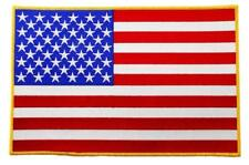 American Flag Embroidered Patch  patch iron on sew on for clothing/ cap/ shirt