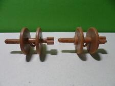 PLAYMOBIL – 2 bobines pour la corde d'encrage / spool / 3053 3055 3550 3740