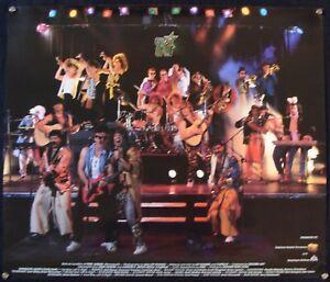 1986-87 MINNESOTA NORTH STARS PUNK ROCKERS @ 1ST AVENUE TEAM PROMO POSTER