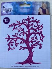 New! Crafter's Companion Enchanted Forest, Everlasting Tree Metal Die