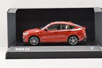 BMW X4 MELBOURNE RED METALLIC iScale 1/43 NEUVE EN BOITE PROMOTIONNELLE