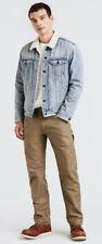 NWT! Levi's WORKWEAR 505 ™ UTILITY Men's Jeans 0004- Ermine Canvas 38x32