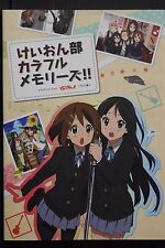 JAPAN TV Animation K-On!: K-On! Bu Colorful Memories!! (Art Book #2)