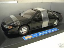 CHEVROLET MONTE CARLO SS noir st 1/18 SUN STAR 1981 voiture miniature collection