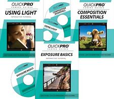 QUICKPro Training 3 DVD's Fundamentals Boxed Set >NEW< Free US Ship