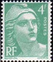 "FRANCE TIMBRE STAMP N°807 ""MARIANNE DE GANDON 4F"" NEUF X TB"