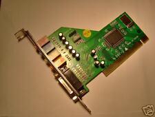Scheda audio 4Ch.PCI PLUG &  PLAY Nuova Testata Ottima!