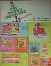 1965 Wilson Tennis~Golf~BasketBall~Ba seball~Football~Misc Sports Memorabilia Ad