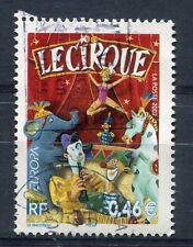 FRANCE 2002, timbre 3466, EUROPA, le CIRQUE, oblitéré