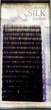 Diamond Silk B 6-14x.25mm Mix Size in 1 Lash Tray Eyelash Extension Black