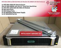 HPE MSA 2050 14.4TB 15K (24x 600GB) 2x 6GB SAS MSA IO Module SFF Array - Q1J29A