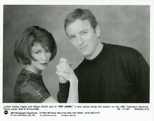 ALLISON SMITH BRUCE MCCARTY LINDEN ASHBY PORTRAIT SPY GAME 1997 ABC TV PHOTO