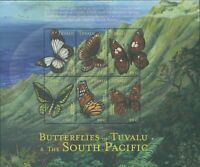 Tuvalu 2000 SG926a South Pacific Butterflies sheetlet MNH