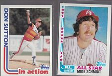 1982 TOPPS  BASEBALL DON SUTTON #306 ASTROS NMMT *53945