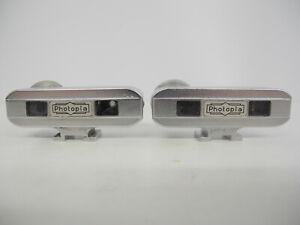 Two Photopia Hot Shoe Camera Rangefinders Working!