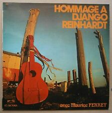 LP Maurice Ferret ‎– Hommage A Django Reinhardt Nm Gypsy Jazz France