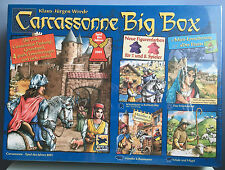 Carcassonne Big Box 2014, Brand New with English Rules