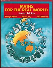 Maths for the Real World...Kahn/Cary & Nickels (Paperback)...Mathematics Text..