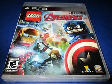 LEGO Marvel's Avengers Sony PlayStation 3 *Factory Sealed! *Free Shipping!