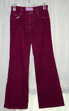 OLD NAVY corduroy pants vintage 70s flared hippie jeans kids 12 grunge trousers