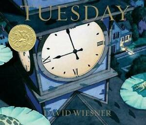 Tuesday (Caldecott Medal Book) - Hardcover By Wiesner, David - GOOD