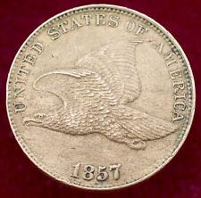 More details for united states flying eagle 1 cent 1857 (h1109)