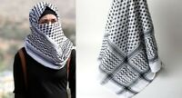 Authentic - New Arab - Yasser Arafat Palestinian - Shemagh - Keffiyeh Scarf Men,