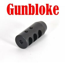 Haenel Jaeger MUZZLE BRAKE MAX-TAC1 15x1mm -  bored to your cal. by GUNBLOKE