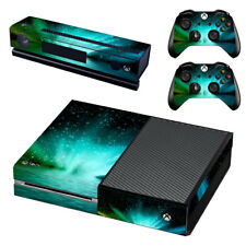 XBOX ONE Skin Decal Cover Kinect 2 Controllers SPACE SEA LIGHT