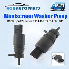 BMW 3 5 X Z Series Windscreen Washer Pump E36 E46 E53 318i 323i 330i 12V Petrol