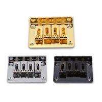 4-string 4 Saddle Bridge for Electric Guitar Bridge Replacement for Bass Ukulele