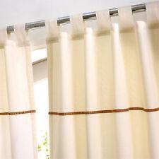 Tab Top 100% Cotton Curtains & Pelmets