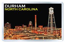 DURHAM NORTH CAROLINA USA FRIDGE MAGNET SOUVENIR IMAN NEVERA