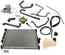 BMW E30 325 Radiator Kit with Thermostat Recovery Tank Sensor and Water Pump Kit