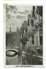 Postcard Dane Avenue Canterbury J Wood RP