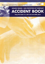 ACCIDENT REPORT BOOK HSE APPROVED ,SCHOOL, OFFICE, FACTORY, GARAGE, NURSERY,