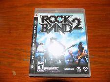Rock Band 2 (Sony PlayStation 3, 2008)  EUC