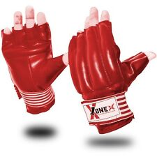 1x1 Sparring Gloves MMA UFC Fight Heavy Punch Grappling Mitt Muay Thai Fight Red