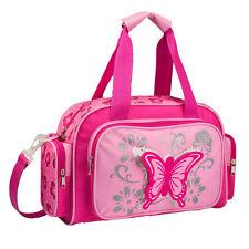 Stefano Kinder Reisetasche rosa Schmetterling