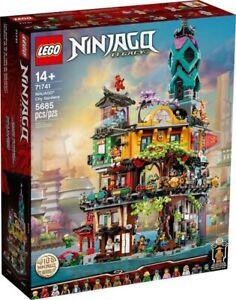 Brand New LEGO NINJAGO® City Gardens 71741