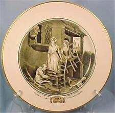 Adams Cries of London Luncheon Plate Old Chairs To Mend Transferware Vintage