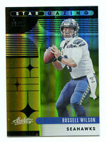 RUSSELL WILSON 2020 Panini Absolute Star Gazing Gold Jersey Number SP 3/10 1/1