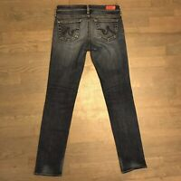 AG Adriano Goldschmied The Stilt Cigarette Leg Stretch Denim Jeans Woman's 25R
