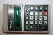 calculatrice machine à calculer année 60 vintage SANYO CX-8136ne
