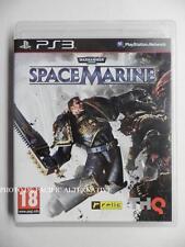 jeu WARHAMMER 40000 SPACE MARINE sur PS3 playstation 3 en francais complet spel